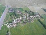 Letecký snímek Tupes